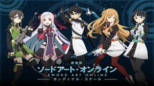 Sword Art Online - Ordinal Scale