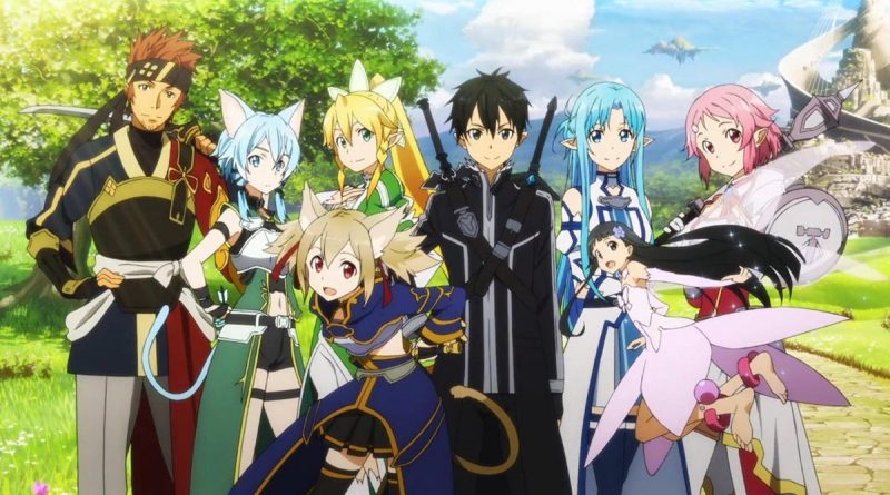 Sword Art Online - All Characters