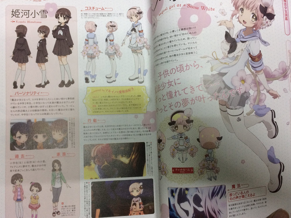 Magical Girl Raising Project - Official Fanbook (2)
