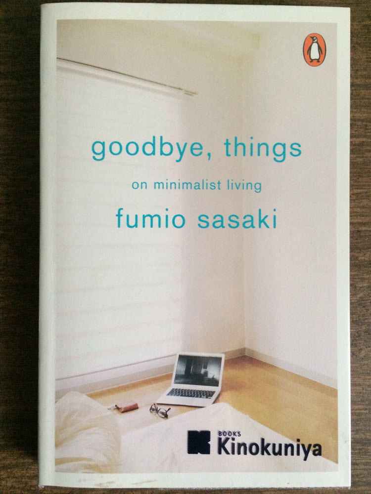 Goodbye Things on minimalist living cover