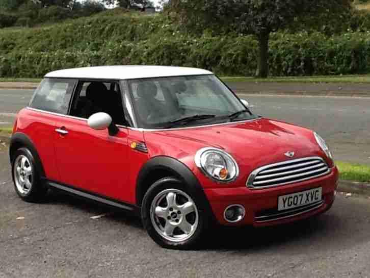 Mini Cooper Red Car