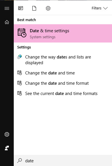 Windows 10 - How to Change Date Time (1)